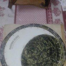 Mapas contemporáneos: PLANISFERIO TERRESTRE.BUSCADOR DE ESTRELLAS.1975. Lote 113599871