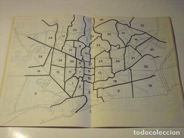 Codigos Postales Barcelona Mapa.Distritos Postales De Barcelona 1977 Formato 21x15 Cm Con Mapa Central De Los Distritos
