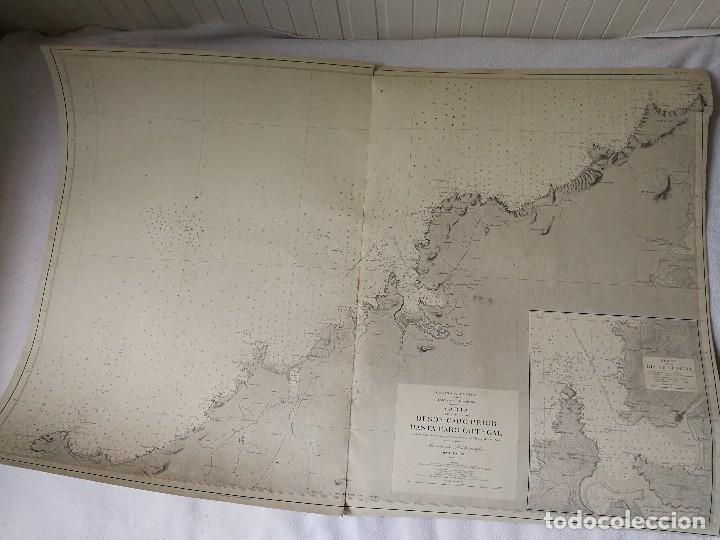 CARTA NÁUTICA GALICIA QUE COMPRENDE DESDE CABO PRIOR HASTA CABO ORTEGAL (A CORUÑA), MADRID 1919. (Coleccionismo - Mapas - Mapas actuales (desde siglo XIX))
