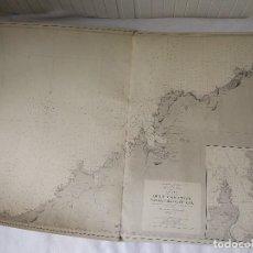 Mapas contemporáneos: CARTA NÁUTICA GALICIA QUE COMPRENDE DESDE CABO PRIOR HASTA CABO ORTEGAL (A CORUÑA), MADRID 1919.. Lote 113654271