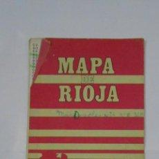 Mapas contemporáneos: MAPA DE LA RIOJA. TDKP1. Lote 113835995
