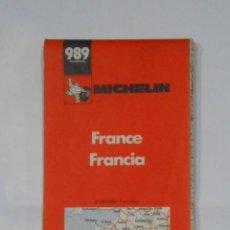 Mapas contemporáneos: MAPA MICHELIN DE FRANCIA. FRANCE. 1978. TDKP1. Lote 113836167