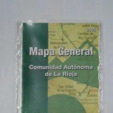 Mapas contemporáneos: MAPA GENERAL DE LA RIOJA. ESCALA 1:150.000. COMUNIDAD AUTONOMA. AÑO 2005. TDKP1. Lote 113992371
