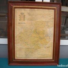 Mapas contemporáneos: MAPA DE MURCIA ENMARCADO. Lote 114850643