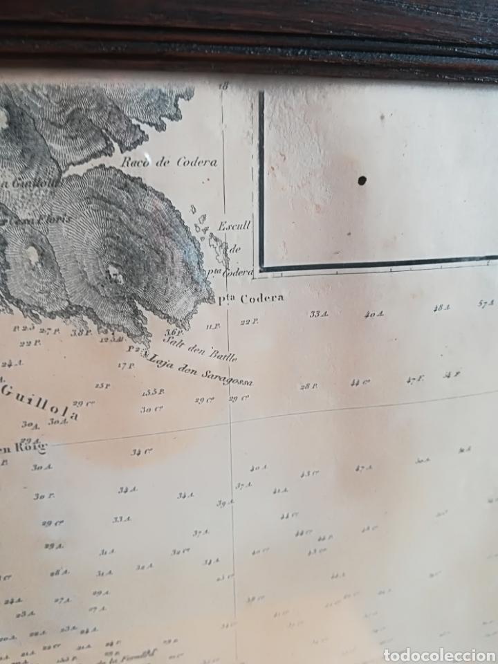 Mapas contemporáneos: Plano del Puerto de Cadaqués Dirección de Hidrografia Madrid año 1889 Carta marina Costa Brava mapa - Foto 5 - 114883984