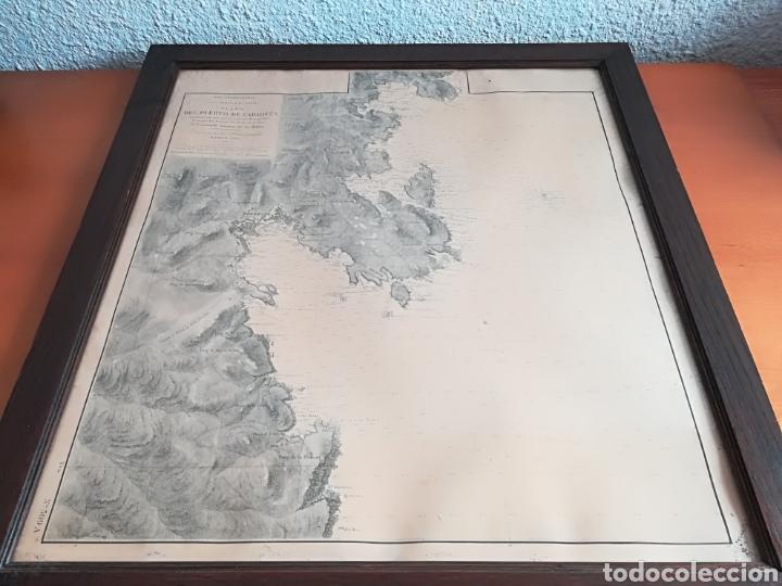 Mapas contemporáneos: Plano del Puerto de Cadaqués Dirección de Hidrografia Madrid año 1889 Carta marina Costa Brava mapa - Foto 12 - 114883984