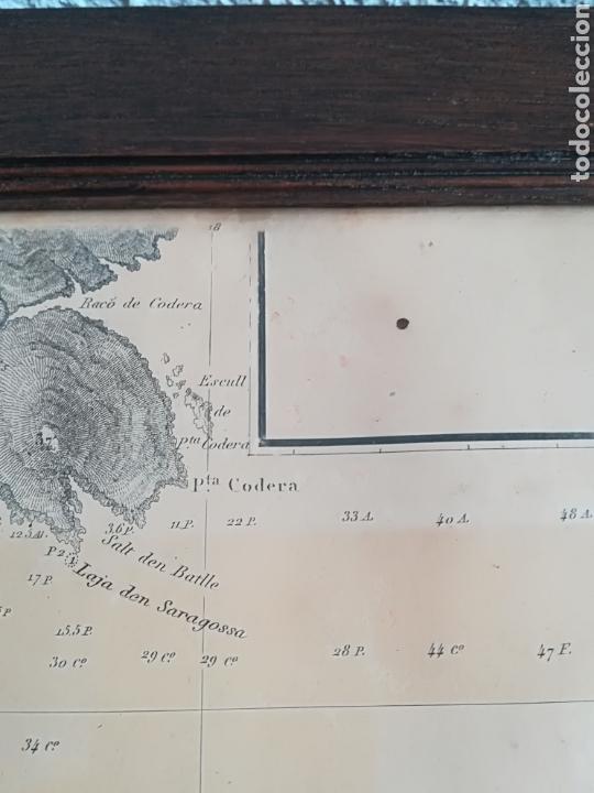Mapas contemporáneos: Plano del Puerto de Cadaqués Dirección de Hidrografia Madrid año 1889 Carta marina Costa Brava mapa - Foto 20 - 114883984