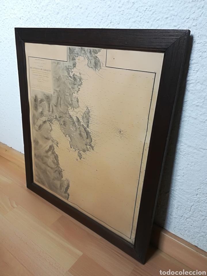 Mapas contemporáneos: Plano del Puerto de Cadaqués Dirección de Hidrografia Madrid año 1889 Carta marina Costa Brava mapa - Foto 33 - 114883984