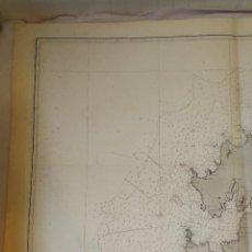 Mapas contemporáneos: CARTA NÁUTICA GALICIA.DESDE CABO TORIÑANA HASTA LA RÍA DE CORME Y LAGE(CORUÑA)MADRID,1915.73 X 105CM. Lote 114894403