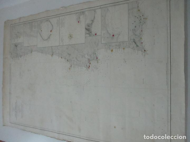 Mapas contemporáneos: Carta Náutica - Costa de Galícia - Océano Atlántico - 1905 - Foto 9 - 116103079