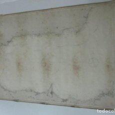 Mapas contemporáneos: CARTA NÁUTICA - CARTA DE ESPAÑA - DESDE PUNTA DE EUROPA HASTA VERA - AÑO 1877. Lote 116104543