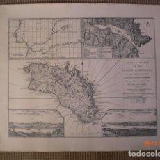 Mapas contemporáneos: EDICIÓN FACSIMIL MAPA DE MENORCA DE JOHN ARMSTRONG MAYO 1794. Lote 116105519