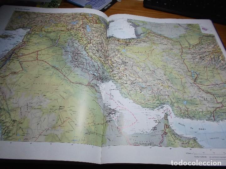 Mapas contemporáneos: ATLAS ENCICLOPEDICO UNIVERSAL - 1998 - Foto 4 - 116127607
