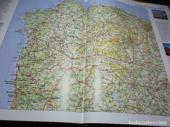 Mapas contemporáneos: ATLAS ENCICLOPEDICO UNIVERSAL - 1998 - Foto 5 - 116127607