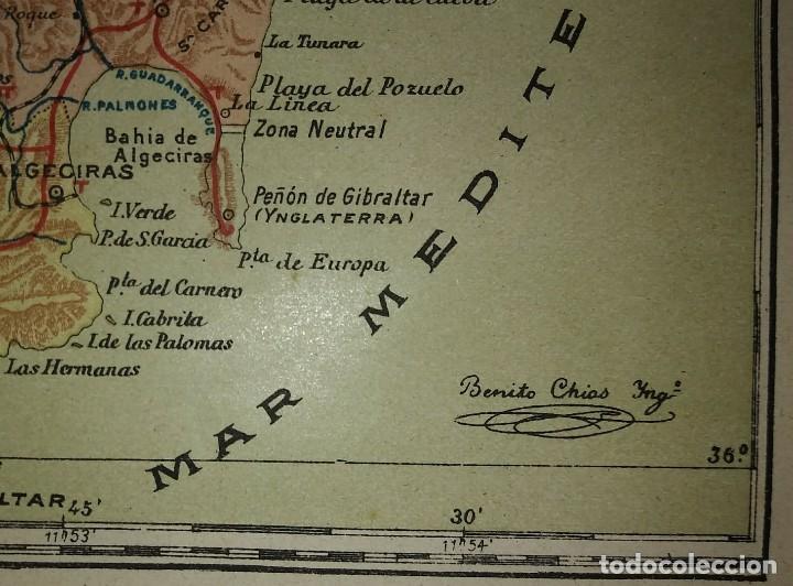 Mapas contemporáneos: Mapa antiguo de Cádiz. 1910 - Foto 4 - 116864763