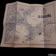 Mapas contemporáneos: MAPA LA CORUÑA. Lote 117819792