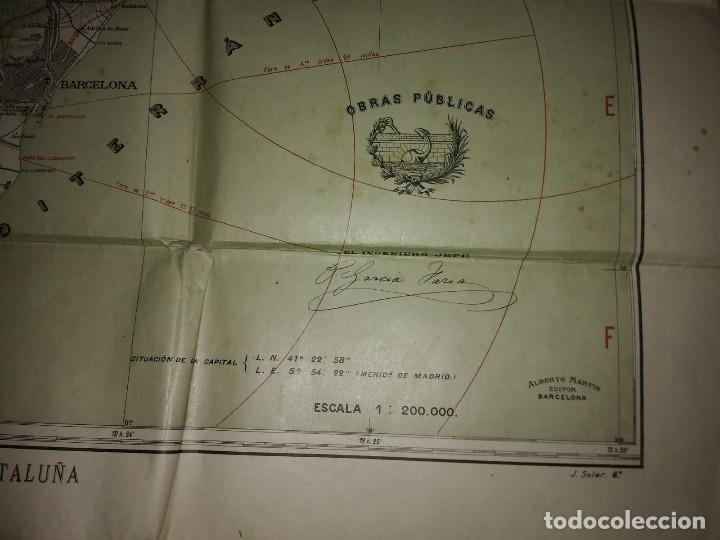 Mapas contemporáneos: MAPA PLANO PROVINCIA DE BARCELONA 68,7 X 82,5 REAL AUTOMÓVIL CLUB DE CATALUÑA OBRAS PÚBLICAS 82x68 - Foto 6 - 117828619