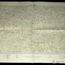 Mapas contemporáneos: B1234 - PINO. EL PINO. CORUÑA. MAPA. AÑO 1972.. GALICIA.. Lote 117939339