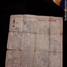Mapas contemporáneos: PLANO MADRID AÑOS 40. Lote 117944319