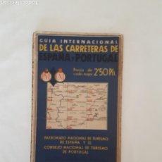 Mapas contemporáneos: GUÍA INTERNACIONAL CARRETERAS ESPAÑA PORTUGAL 5. Lote 118427087