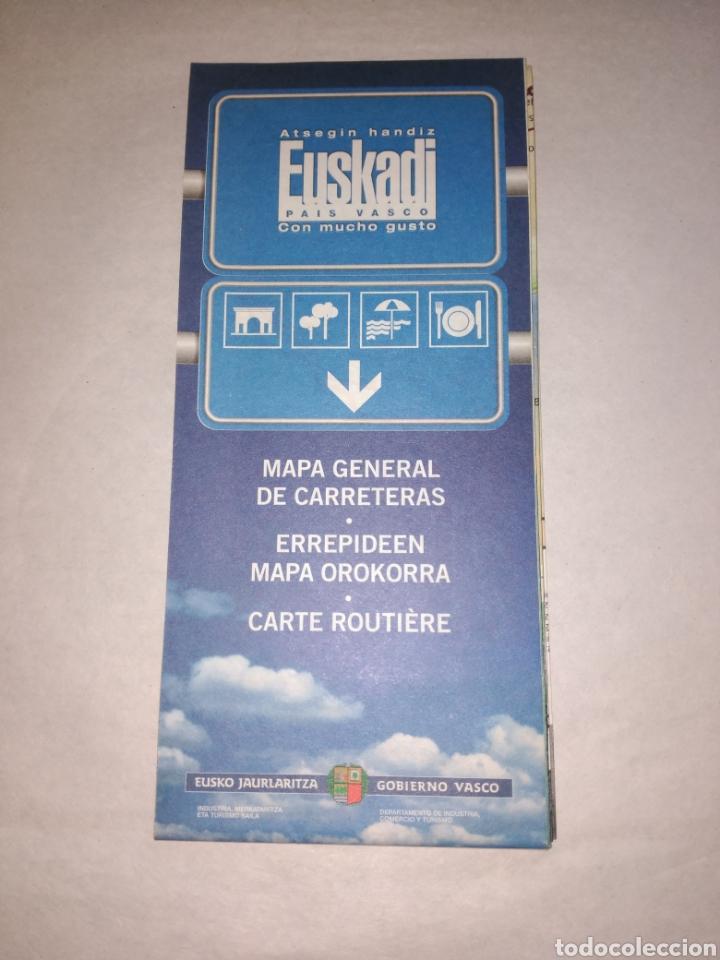Mapa Turistico Y De Carreteras De Euskadi Turi Buy Contemporary