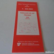 Mapas contemporáneos: MAPA TOPOGRAFICO.PERALEJO DE LAS TRUCHAS.. Lote 119558227