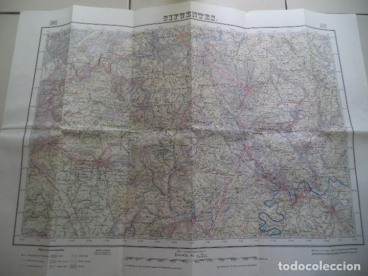 MAPA DE CIFUENTES.512 (Coleccionismo - Mapas - Mapas actuales (desde siglo XIX))