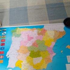 Mapas contemporáneos: MAPA DE ESPAÑA 91X 61,5. Lote 119864871