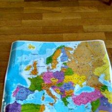 Mapas contemporáneos: MAPA DE EUROPA 42X53 PAPEL FUERTE CON BRILLO,POLITICO. Lote 120605315