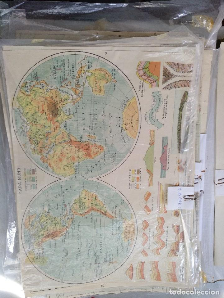 Mapas contemporáneos: ATLAS GEOGRÁFICO UNIVERSAL. SALVADOR SALINAS. LÁMINAS DE MAPAS. AÑO 1944. LIT. EUSEBIO FERNÁNDEZ - Foto 4 - 121859347