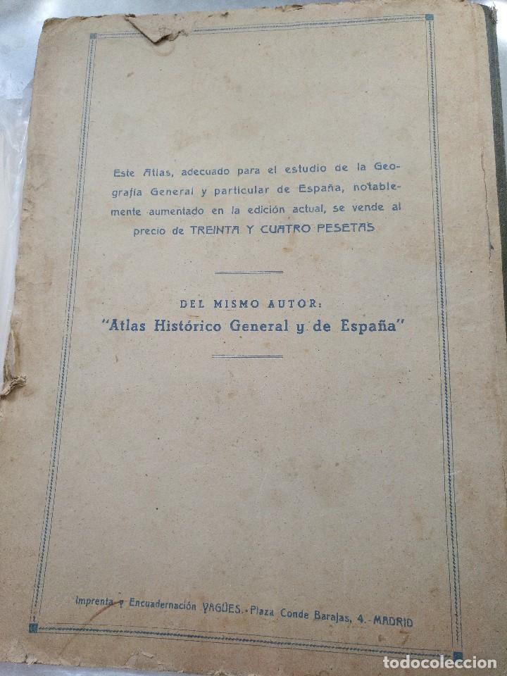 Mapas contemporáneos: ATLAS GEOGRÁFICO UNIVERSAL. SALVADOR SALINAS. LÁMINAS DE MAPAS. AÑO 1944. LIT. EUSEBIO FERNÁNDEZ - Foto 7 - 121859347