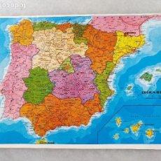 Mapas contemporáneos: PEQUEÑO MAPA DE ESPAÑA. Lote 121875187
