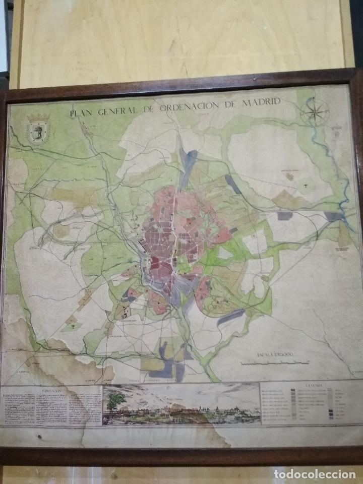 plano general de ordenacion de madrid, año 1939 - Comprar Mapas ...