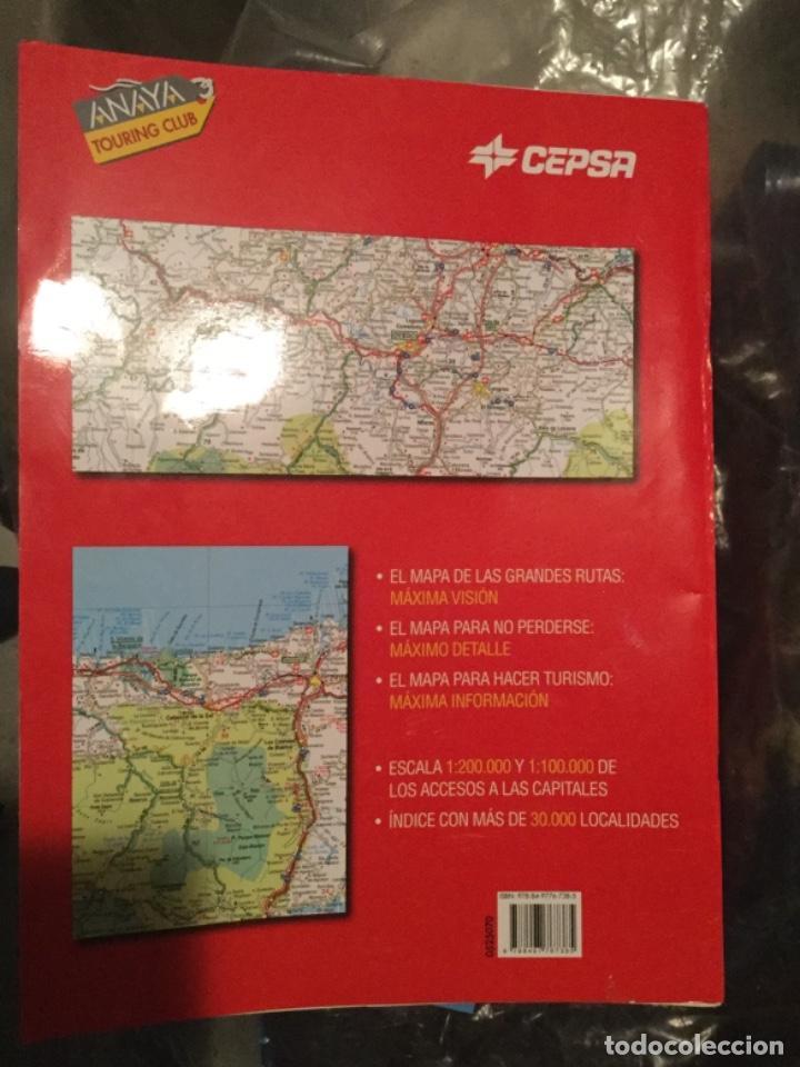 Mapamax Cepsa 2009 Gran Atlas De Carretera Espa Comprar Mapas