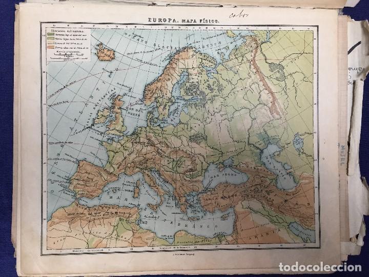 ATLAS UNIVERSAL F VOLCKMAR EDICIÓN PEQUEÑA PARA EL REINO DE ESPAÑA 34 MAPAS 1946 (Coleccionismo - Mapas - Mapas actuales (desde siglo XIX))