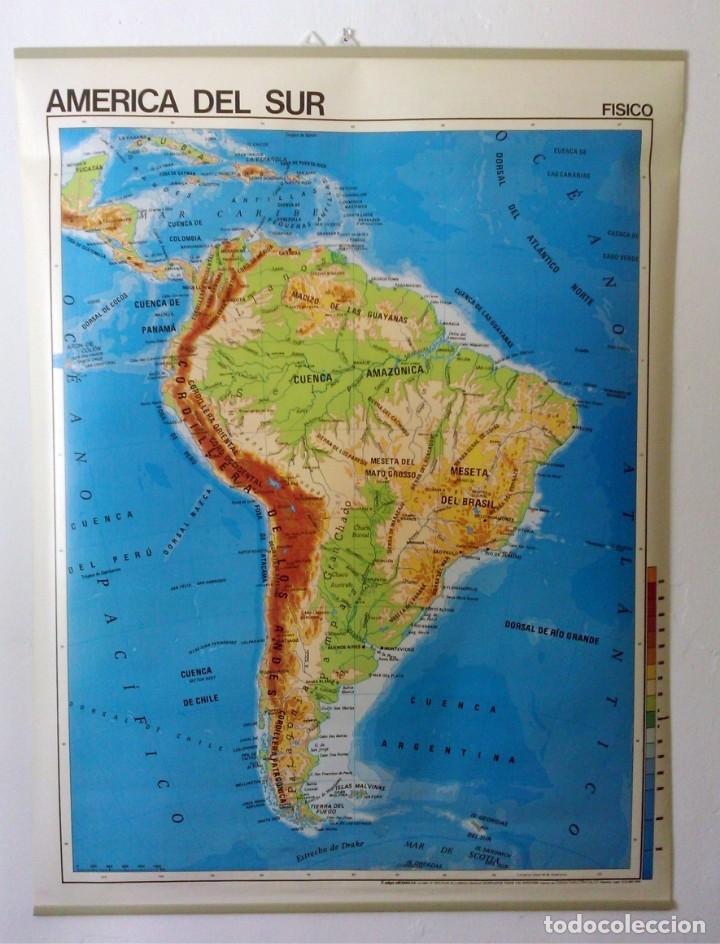mapa américa del sur mapa escolar edigol años 7 - Kaufen ...