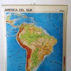 Mapas contemporáneos - Mapa América del Sur Mapa escolar Edigol años 70/80 - 125144979