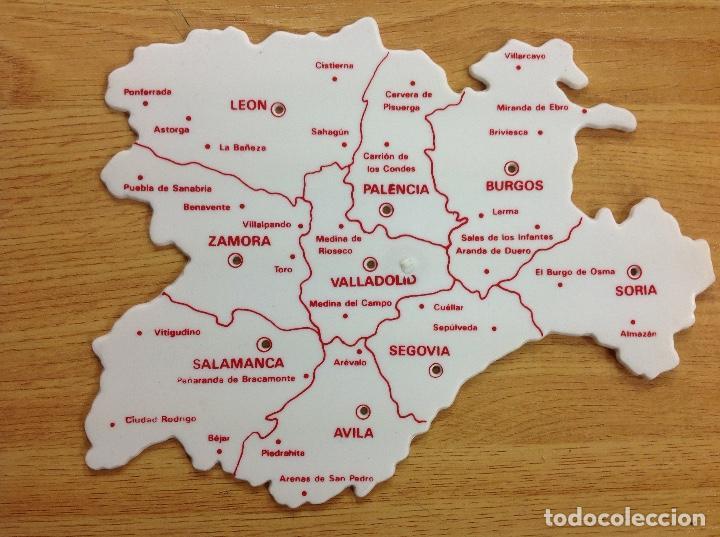 Plantilla De Mapa Castilla Y Leon Sold Through Direct Sale