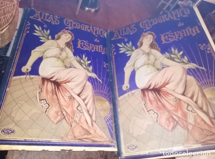 ATLAS GEOGRÁFICO 1898, MAPAS DE 1901 A 1903 (Coleccionismo - Mapas - Mapas actuales (desde siglo XIX))
