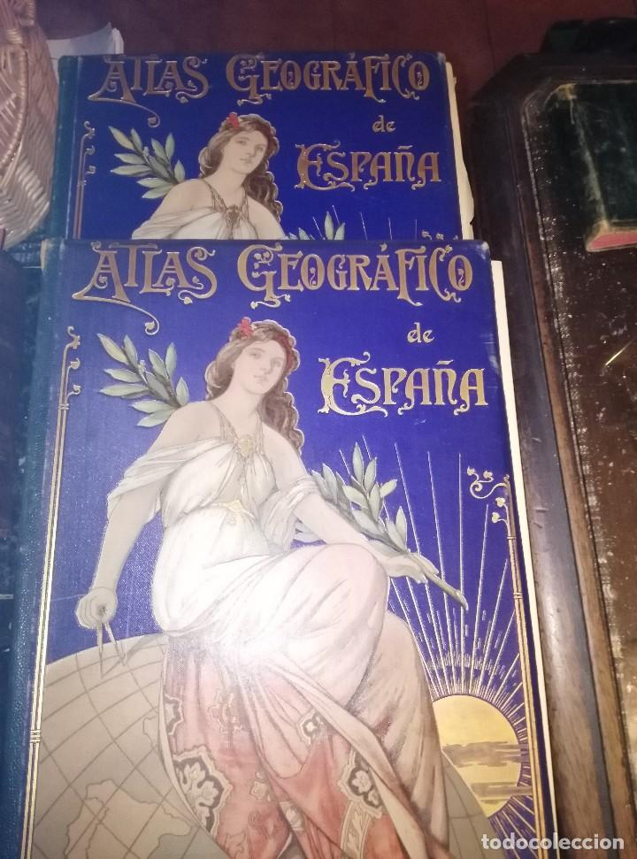 Mapas contemporáneos: ATLAS GEOGRÁFICO 1898, MAPAS DE 1901 A 1903 - Foto 5 - 127147255