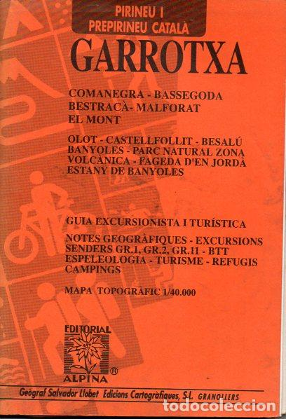 GARROTXA (ALPINA, 1993) (Coleccionismo - Mapas - Mapas actuales (desde siglo XIX))
