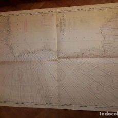 Mapas contemporáneos: CARTA NAUTICA NAVEGACION - DE CABO DE PEÑAS AL ESTRECHO DE GIBRALTAR - ABRIL 1974.. Lote 144856230