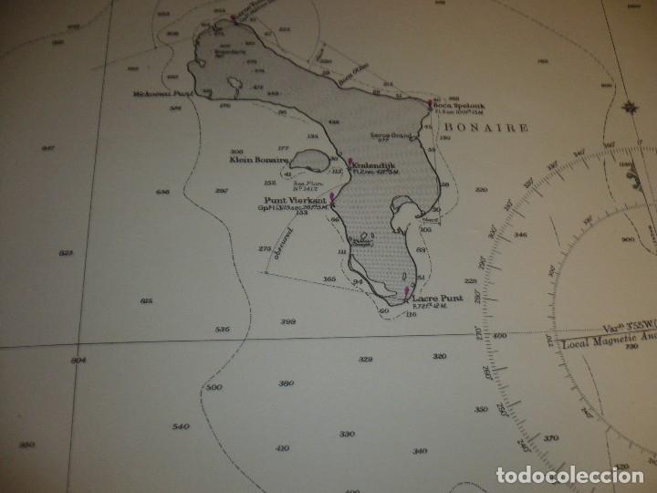 Mapas contemporáneos: CARTA MARITIMA PUNTA DE SAN JUAN TO CABO SAN ROMAN 140 CM X 86 CM - Foto 5 - 129565279
