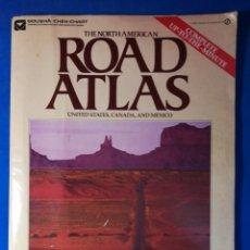 Mapas contemporáneos: ATLAS DE CARRETERAS DE NORTEAMÉRICA, 1981 - USA, CANADÁ Y MÉXICO - ROAD ATLAS (INGLÉS). Lote 129974738