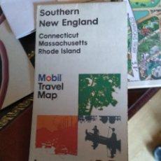 Mapas contemporáneos: MAPA MOBIL - SOUTHERN NEW ENGLAND 1977. Lote 130033887