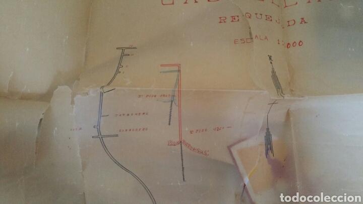 Mapas contemporáneos: Plano de las minas de antracitas castellanas Requejada Villaverde 1947 - Foto 3 - 130535519