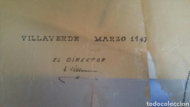 Mapas contemporáneos: Plano de las minas de antracitas castellanas Requejada Villaverde 1947 - Foto 4 - 130535519
