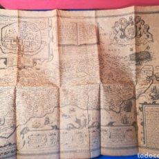 Mapas contemporáneos: REPRODUCCIÓN MAPA JOHN SPEED JODOCUS HONDIUS 1610 CONDADO DE SUSSEX PAPEL PERGAMINO 50X37 CMS.. Lote 130688810