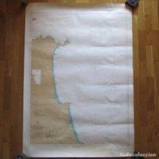 Mapas contemporáneos: MAPA DE PUNTA LEONA AL CABO MAZARI INSTITUTO HIDROGEOGRÁFICO DE LA MARINA 120 X 84,5 CM. Lote 130846288