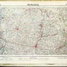 Mapas contemporáneos: MAPA (1954) TAFALLA (NAVARRA) - INSTITUTO GEOGRÁFICO Y CATASTRAL - VER DESCRIPCIÓN. Lote 131909818